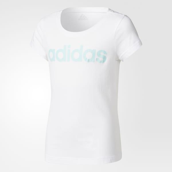 Camiseta Essentials Linear Blanco CF1645