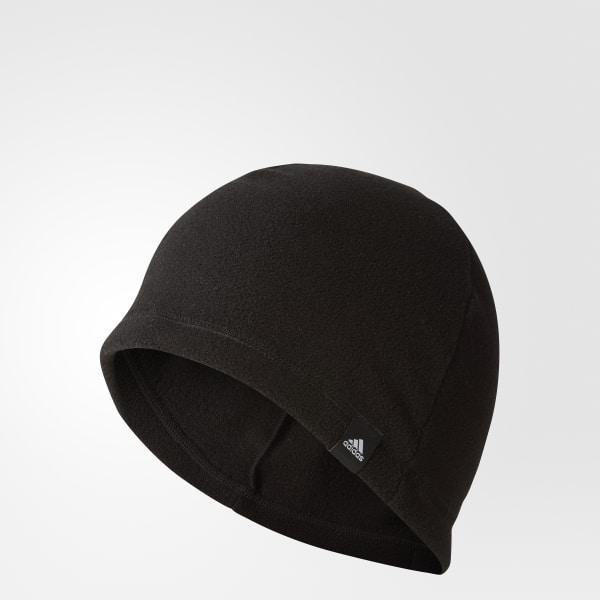 3-Streifen Fleecemütze schwarz BC5318