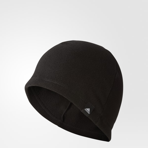 3-Stripes Fleece Beanie Black BC5318