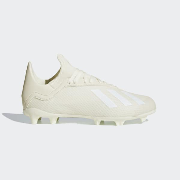X 18.3 Firm Ground Cleats White DB2417