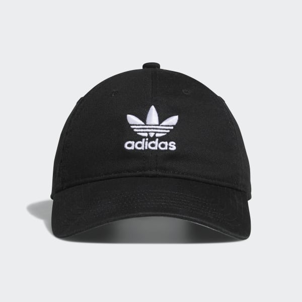 Washed Relaxed Hat Black CI1358