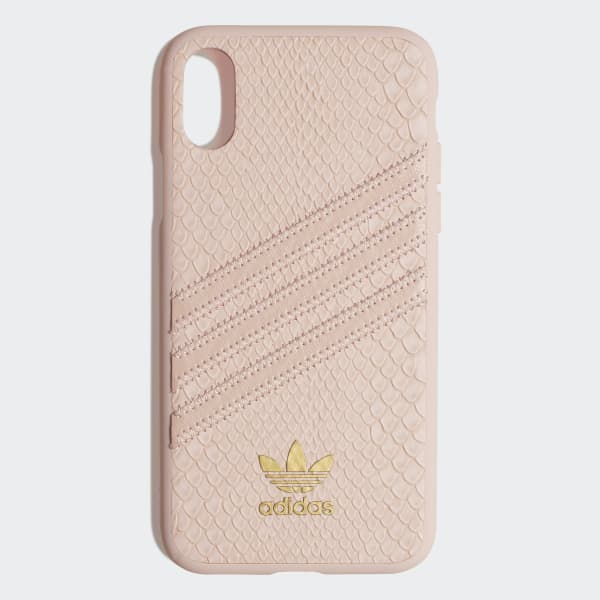 Snake Molded Case iPhone X roze CK6215
