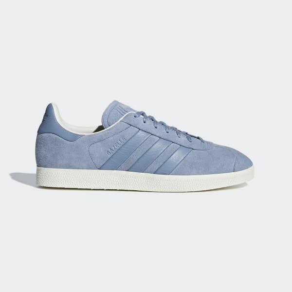 Gazelle Stitch-and-Turn Shoes Blå B37813