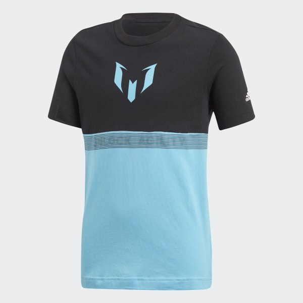 Messi T-shirt zwart CF7003