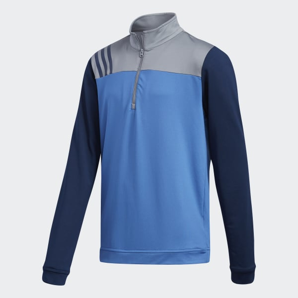 Sweat-shirt Layering bleu CY6452