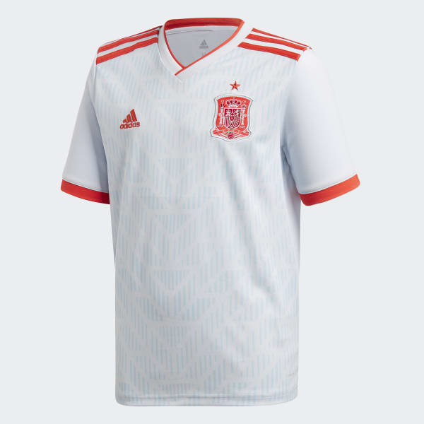 Spain Away Jersey White BR2694