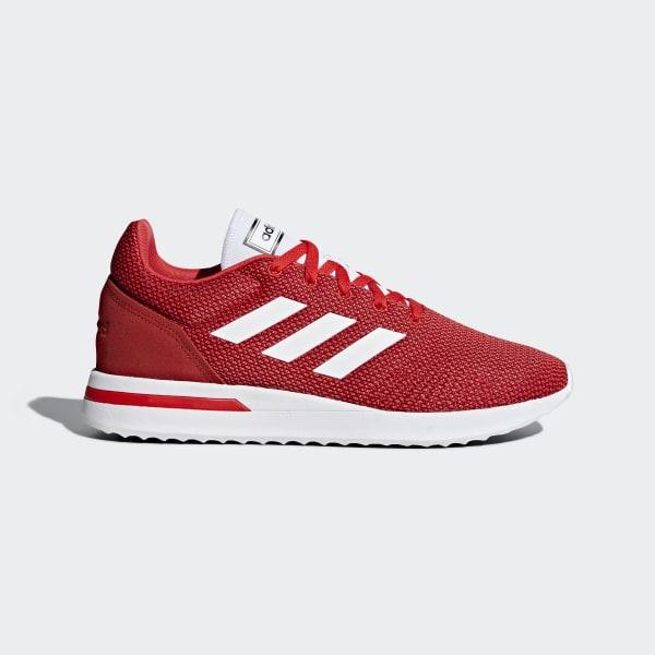 Run 70s sko Rød B96556