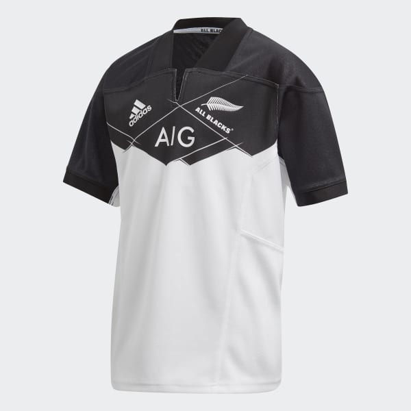 All Blacks Home Jersey White AZ5558