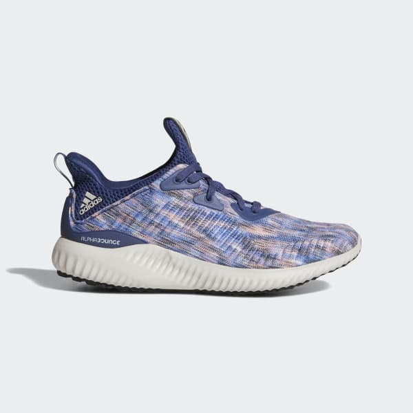 Alphabounce Space Dyed Shoes Blue CQ1487