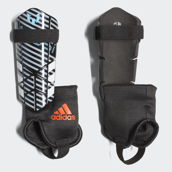 Messi 10 Shin Guards Black CW9738