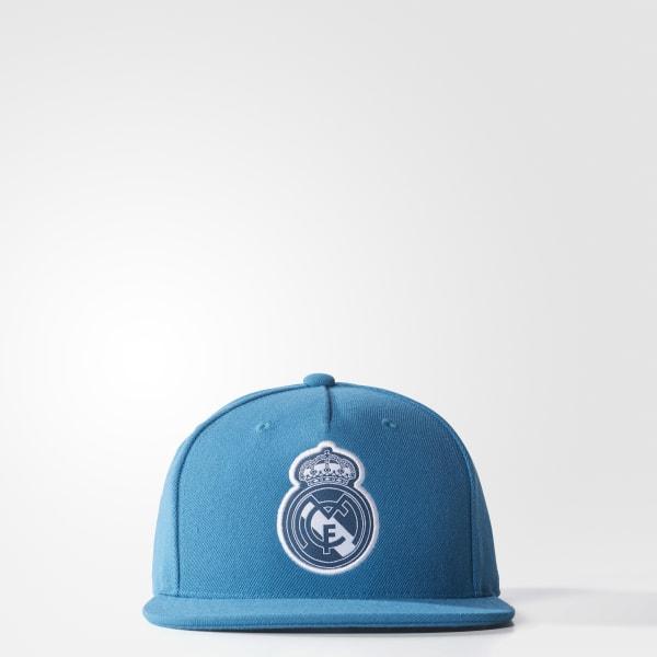 Real Madrid Flat-Brim Kappe blau CD9143