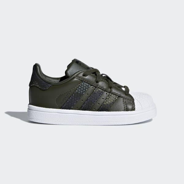 Superstar Schuh grün CQ2856