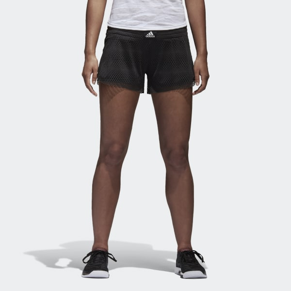 Two-in-One Mesh Shorts Black BK7966