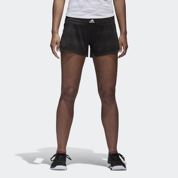 Two-in-One Mesh Shorts schwarz BK7966
