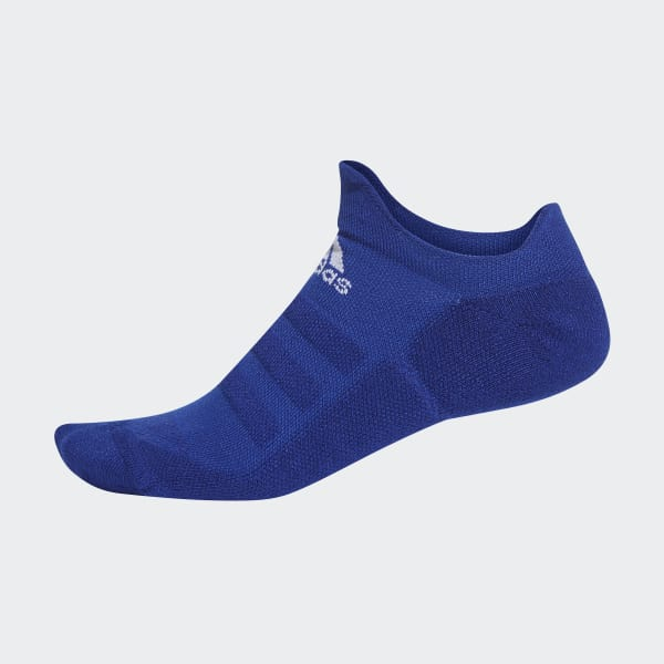 Alphaskin Lightweight Cushioning No-Show Socken blau DM6081
