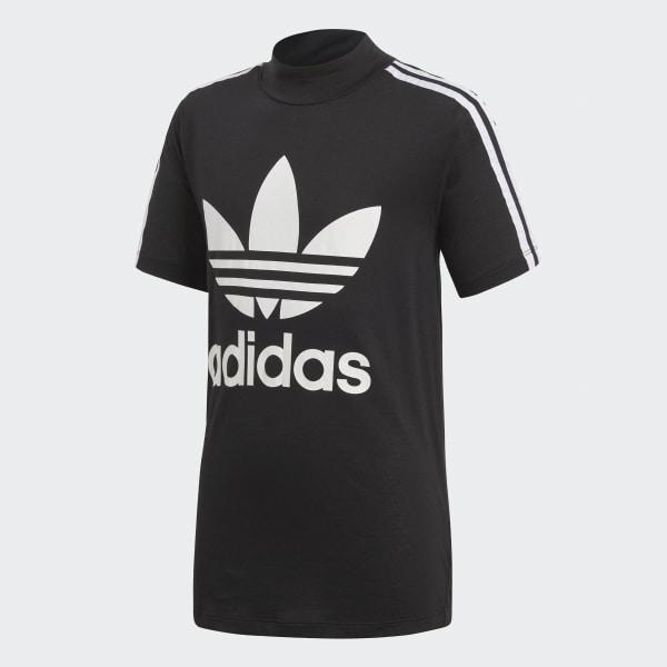 T-shirt California High Collar noir CD8415