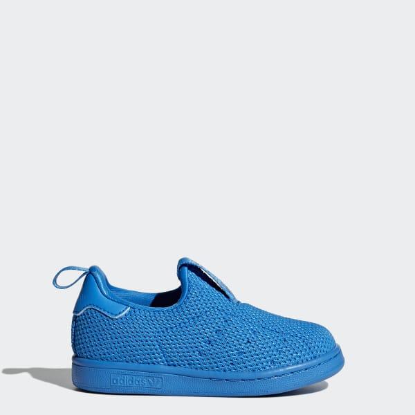 Stan Smith 360 Supercolor Schuh blau BZ0551