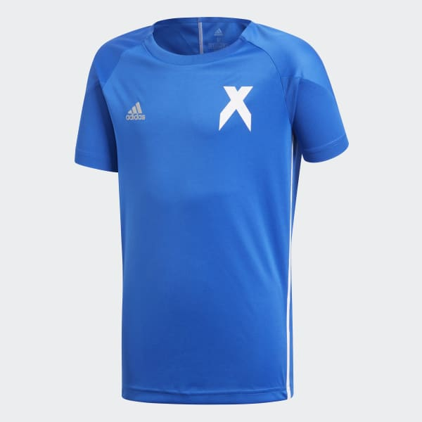 Camiseta X Azul DJ1259