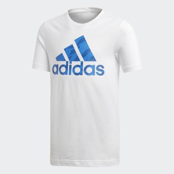 T-shirt Badge of Sport Bianco DI0362