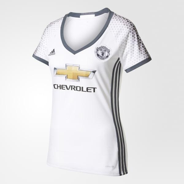 Manchester United FC Replica Third Jersey White AI6660