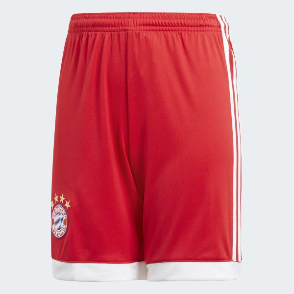 FC Bayern Munich Home Shorts Red AZ7948