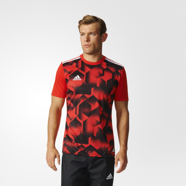 Tango Cage Graphic Jersey Red BK3754