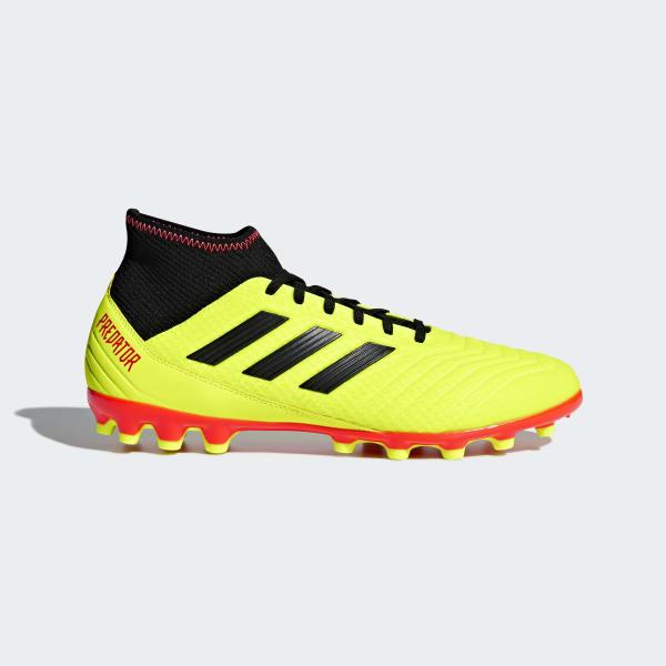 Predator 18.3 Artificial Grass Boots Yellow BB7748
