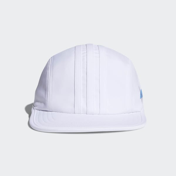 Cappellino Hélas Four-Panel Bianco CF8454