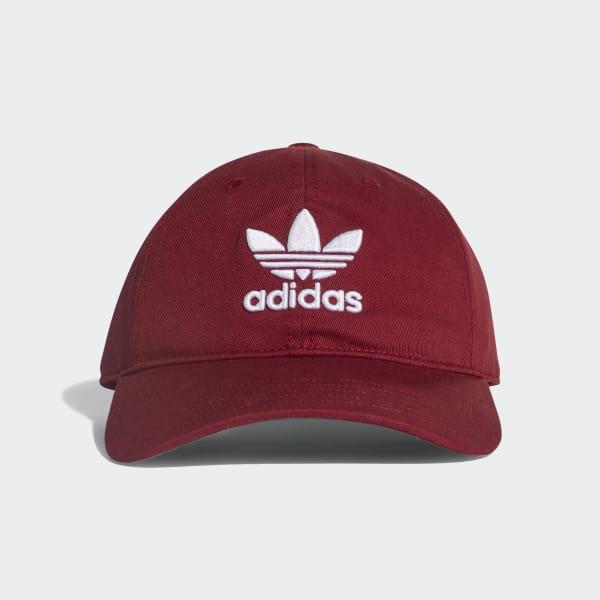 Cappellino Trefoil Classic Rosso CD8804