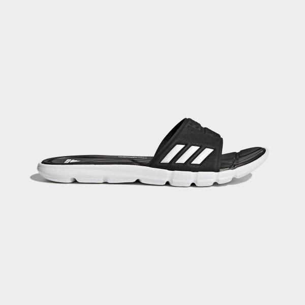 Sandales adipure Cloudfoam noir BB4558