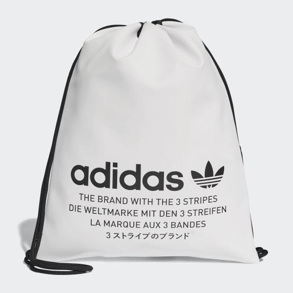 adidas NMD Sportbeutel weiß DH4417