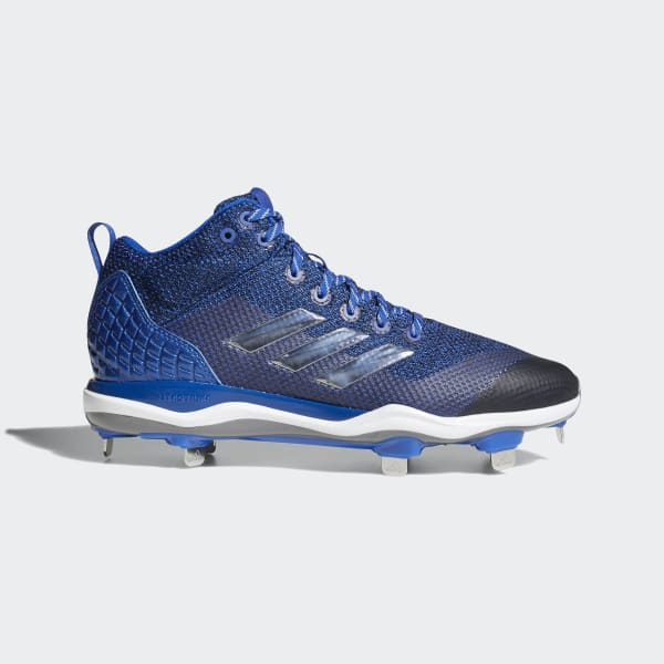 PowerAlley 5 Mid Cleats Blue B39195