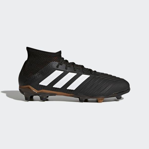 Predator 18.1 Firm Ground Boots Black CP8872