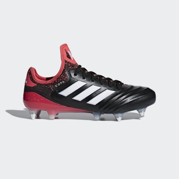 Copa 18.1 Soft Ground Voetbalschoenen zwart CP8947