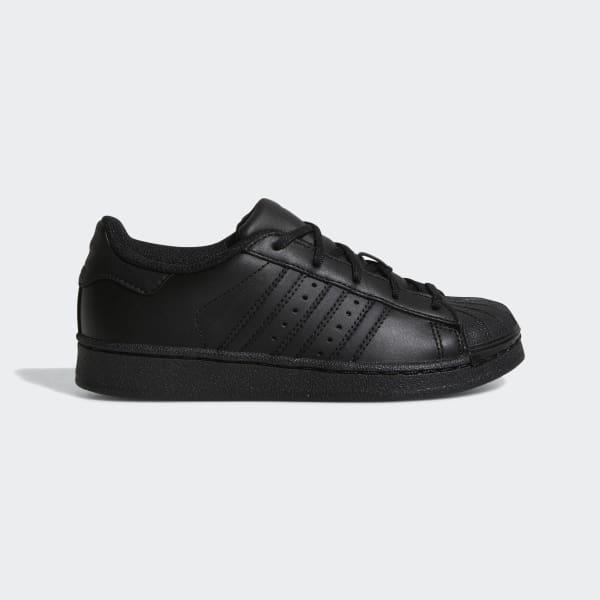 Superstar Foundation Schoenen zwart BA8381