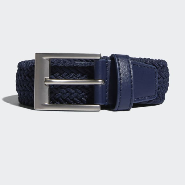 Braided Stretch Belt Blue DT0104