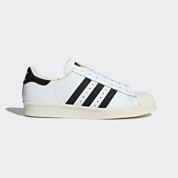 Superstar 80s Schuh weiß G61070