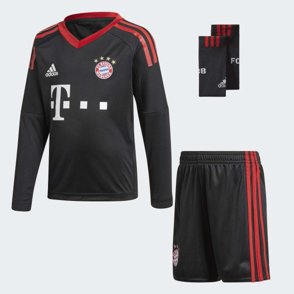 Mini Kit Goalkeeper FC Bayern München Nero AZ7944