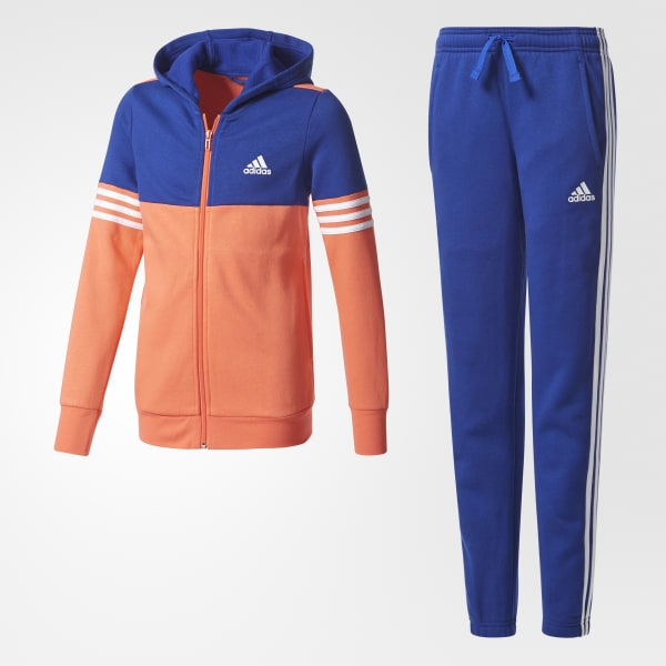Hooded Track Suit Blue CF0023