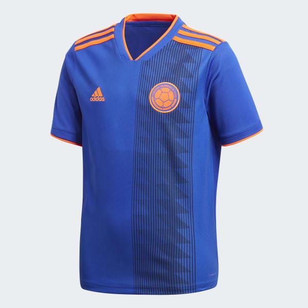 Camiseta segunda equipación Colombia Azul BR3493
