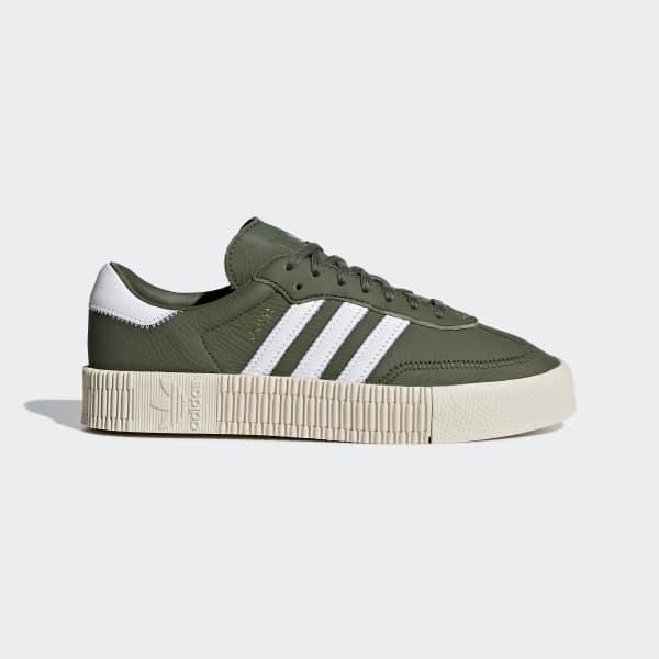 SAMBAROSE Shoes Green B28168