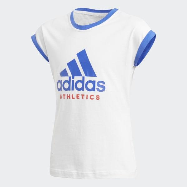 T-shirt Sport ID Bianco CF6665