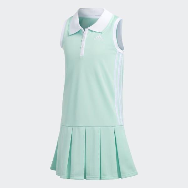 Twirl Polo Dress Green CJ2432