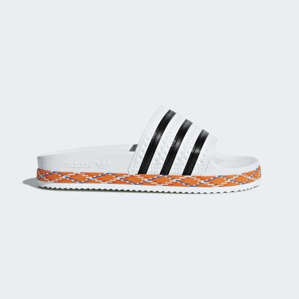 Adilette New Bold Slipper weiß B28117