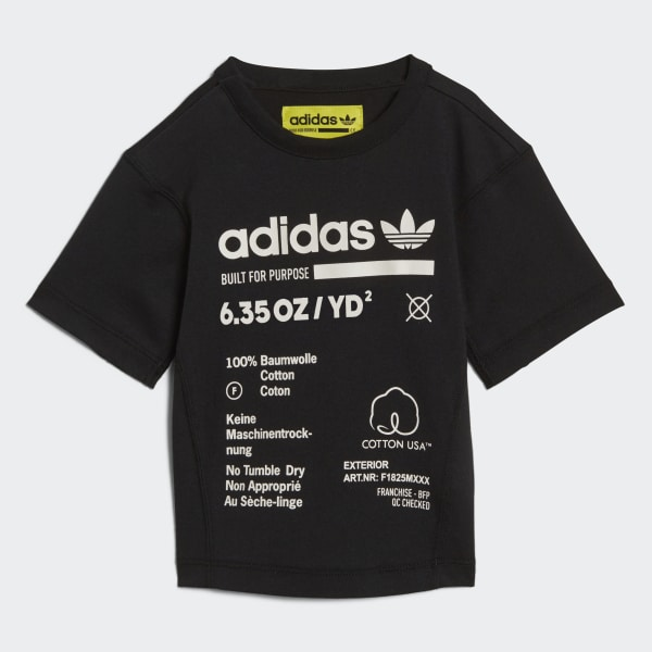 KAVAL T-shirt zwart DH3228