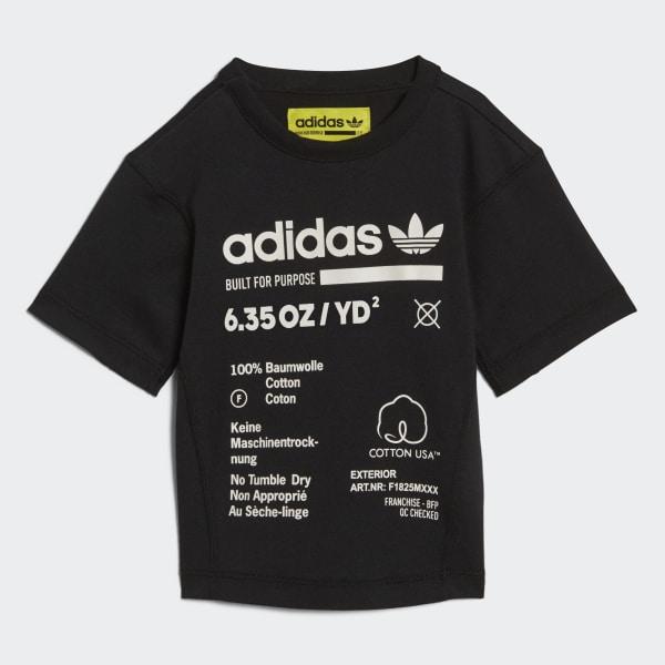 Kaval T-Shirt schwarz DH3228