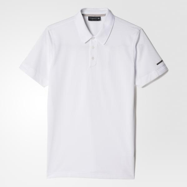 Piqué Polo Shirt White AI1597