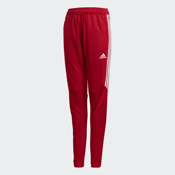 Tiro 17 Training Pants Red CF3615