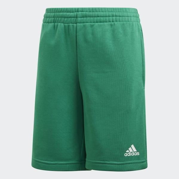 Pantaloncini Essentials Logo Verde CF6536