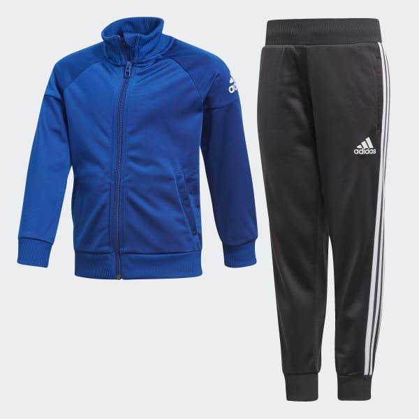Little Boys Knitted Tracksuits Blue DJ1523